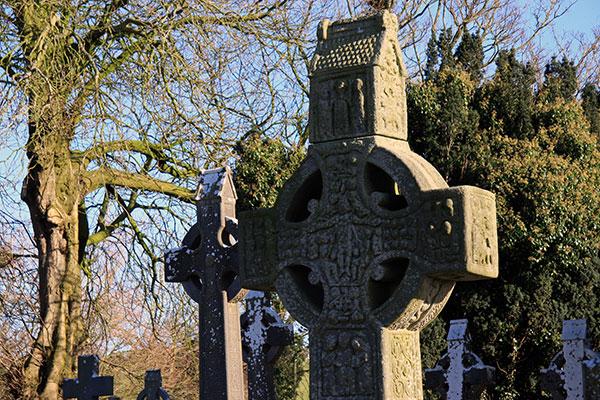 Keltisches Kreuz in Monasterboyce