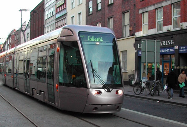 LUAS---Dublin-Tram