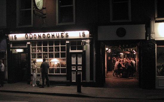 O'Donoghue's - eine der legendärsten Dubliner Schenken