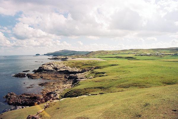 Malinhead - angeblich eine der sonnigsten Gegenden Irlands