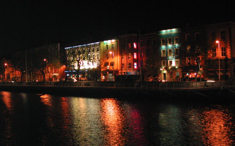 Dublin entlang der Liffey