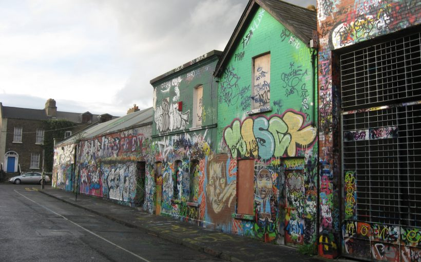 Haus in der Windmill Lane in Dublin